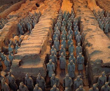 paisajes de Xi'an